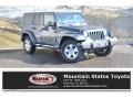 Jeep Wrangler Unlimited Sahara 4x4 Steel Blue Metallic photo #1