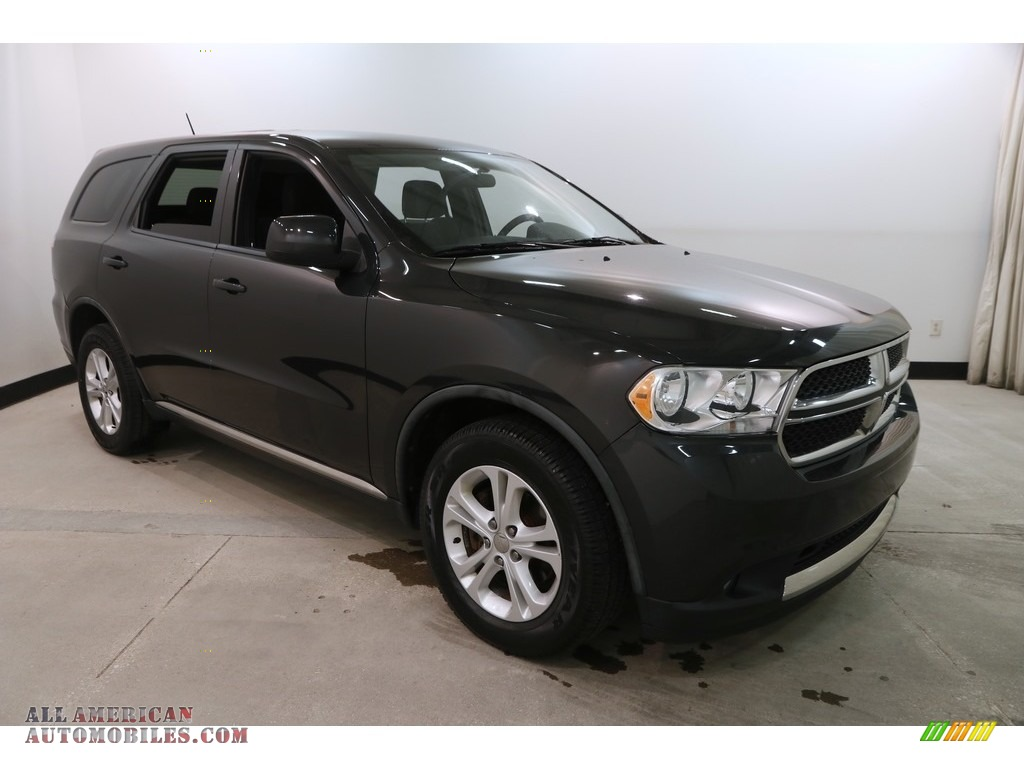 2011 Durango Express 4x4 - Dark Charcoal Pearl / Black photo #1
