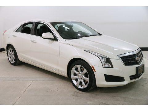 White Diamond Tricoat 2014 Cadillac ATS 2.0L Turbo AWD