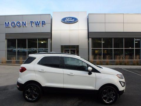 Diamond White 2018 Ford EcoSport SES 4WD
