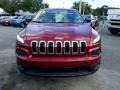 Jeep Cherokee Sport Deep Cherry Red Crystal Pearl photo #8