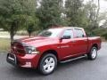 Dodge Ram 1500 Express Crew Cab 4x4 Deep Cherry Red Crystal Pearl photo #2