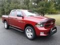 Dodge Ram 1500 Express Crew Cab 4x4 Deep Cherry Red Crystal Pearl photo #4
