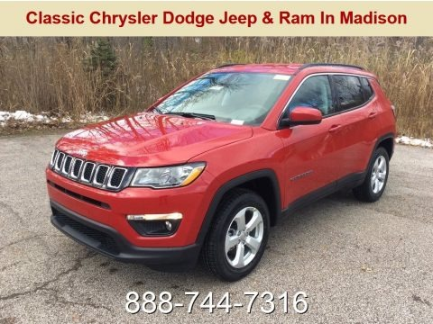 Red-Line Pearl 2019 Jeep Compass Latitude 4x4