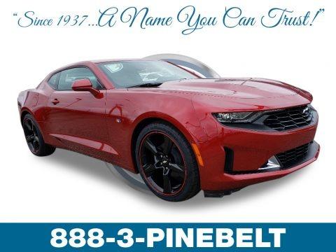Garnet Red Tintcoat 2019 Chevrolet Camaro LT Coupe