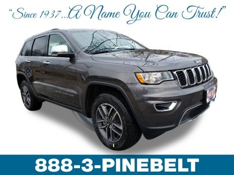 Granite Crystal Metallic 2019 Jeep Grand Cherokee Limited 4x4