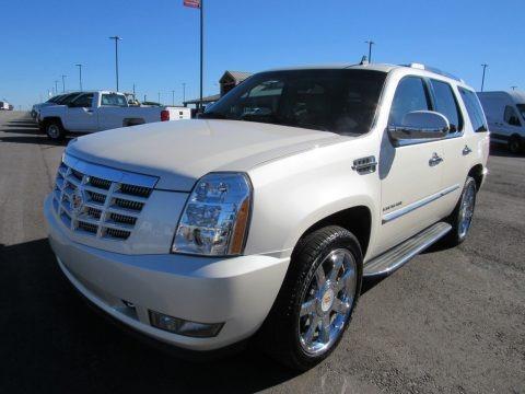 White Diamond 2010 Cadillac Escalade Luxury AWD