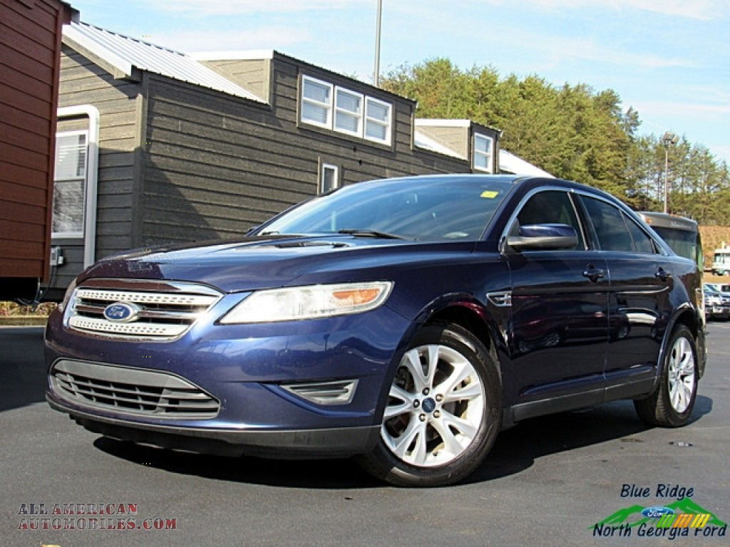 2011 Taurus SEL - Kona Blue / Light Stone photo #1