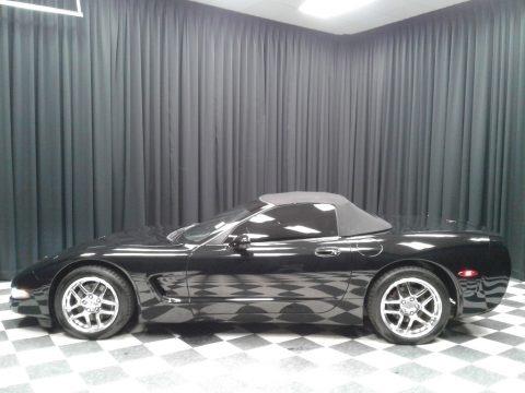 Black 2001 Chevrolet Corvette Convertible