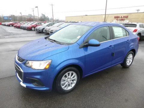 Kinetic Blue Metallic 2019 Chevrolet Sonic LT Sedan