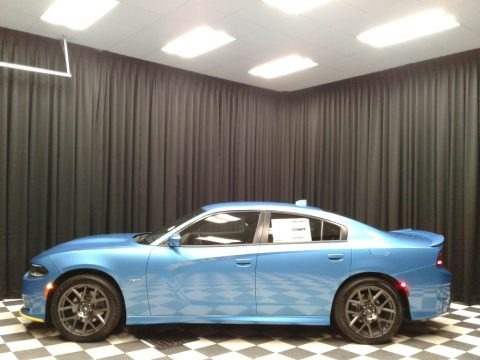 B5 Blue Pearl 2019 Dodge Charger R/T