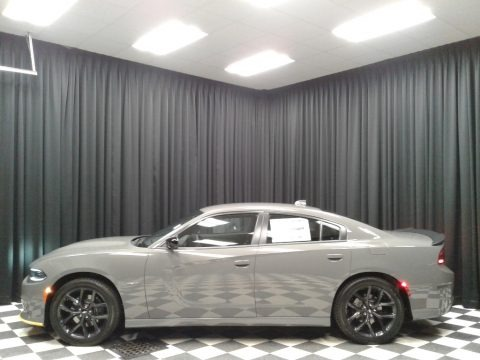 Destroyer Gray 2019 Dodge Charger R/T