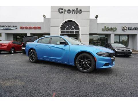 B5 Blue Pearl 2019 Dodge Charger SXT