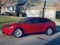 Tesla Model X 75D Red Multi-Coat photo #1