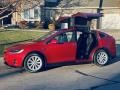 Tesla Model X 75D Red Multi-Coat photo #5