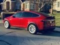 Tesla Model X 75D Red Multi-Coat photo #20