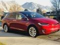Tesla Model X 75D Red Multi-Coat photo #23