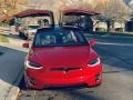 Tesla Model X 75D Red Multi-Coat photo #24