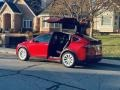 Tesla Model X 75D Red Multi-Coat photo #26