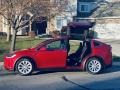 Tesla Model X 75D Red Multi-Coat photo #28