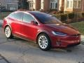 Tesla Model X 75D Red Multi-Coat photo #31