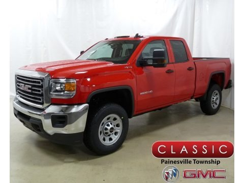 Cardinal Red 2019 GMC Sierra 2500HD Double Cab 4WD