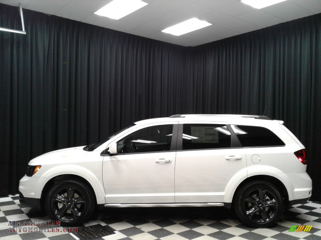 Vice White / Black Dodge Journey Crossroad