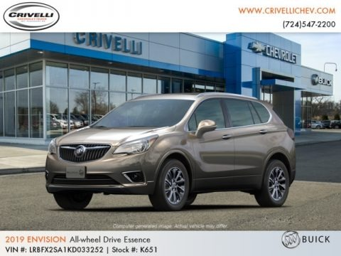 Bronze Alloy Metallic 2019 Buick Envision Essence AWD