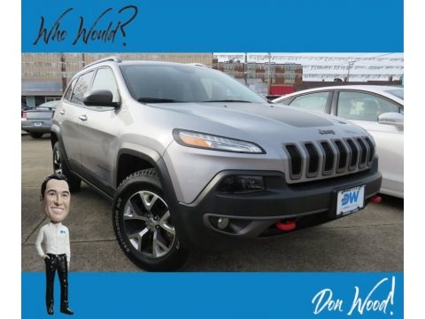 Billet Silver Metallic 2016 Jeep Cherokee Trailhawk 4x4