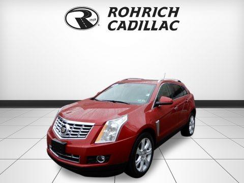 Crystal Red Tincoat 2016 Cadillac SRX Performance