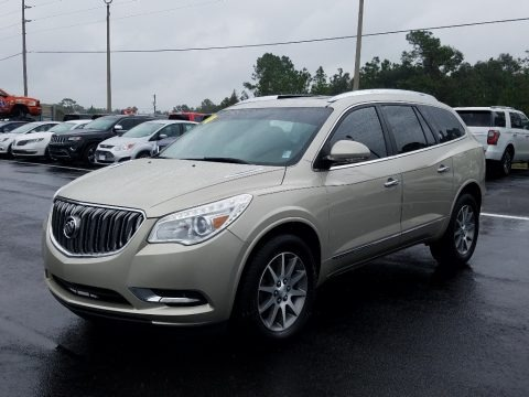 Champagne Silver Metallic 2014 Buick Enclave Leather