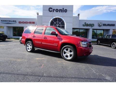 Crystal Red Tintcoat 2013 Chevrolet Tahoe LT