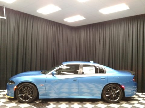 B5 Blue Pearl 2019 Dodge Charger R/T Scat Pack
