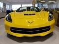 Chevrolet Corvette Stingray Convertible Corvette Racing Yellow Tintcoat photo #2
