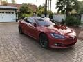 Tesla Model S P100D Red Multi-Coat photo #19
