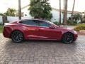 Tesla Model S P100D Red Multi-Coat photo #22