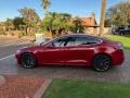 Tesla Model S P100D Red Multi-Coat photo #25