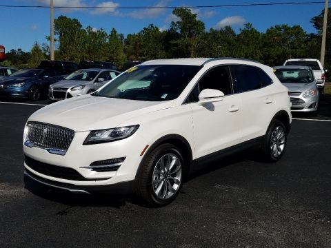 White Platinum 2019 Lincoln MKC Select