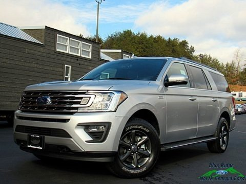 Ingot Silver Metallic 2019 Ford Expedition XLT Max 4x4