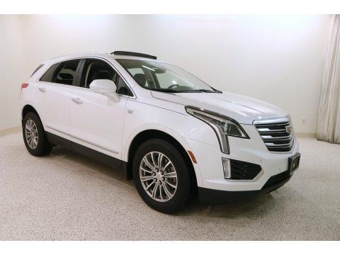 Crystal White Tricoat 2018 Cadillac XT5 Luxury