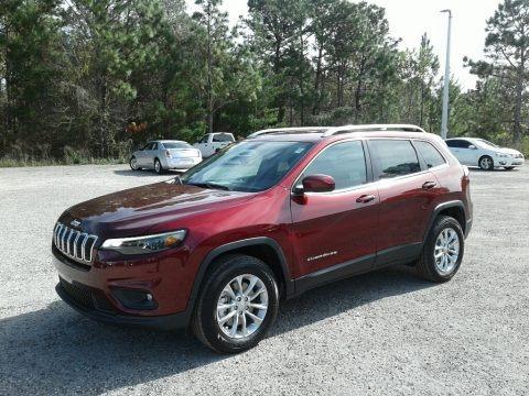 Velvet Red Pearl 2019 Jeep Cherokee Latitude 4x4