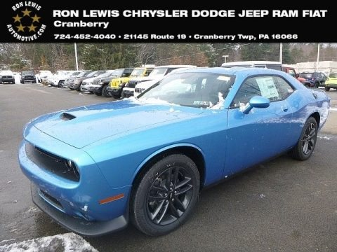 B5 Blue Pearl 2019 Dodge Challenger GT AWD