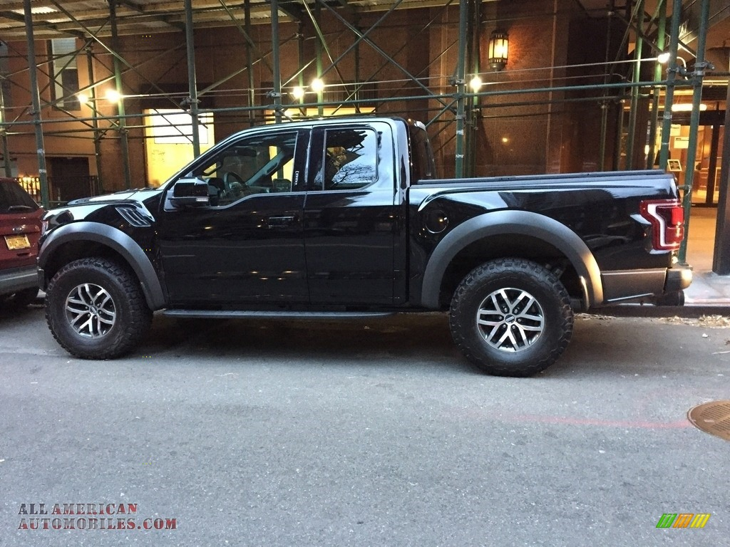 2018 F150 SVT Raptor SuperCab 4x4 - Shadow Black / Black photo #1