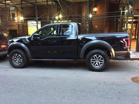 Shadow Black 2018 Ford F150 SVT Raptor SuperCab 4x4