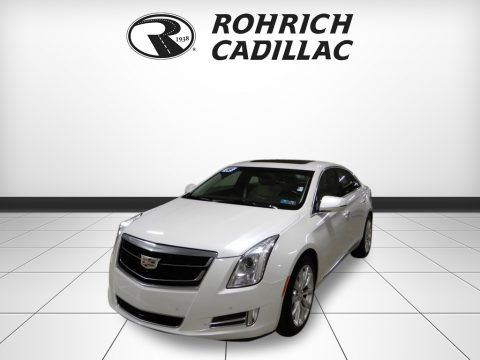 Crystal White Tricoat 2016 Cadillac XTS Luxury AWD Sedan