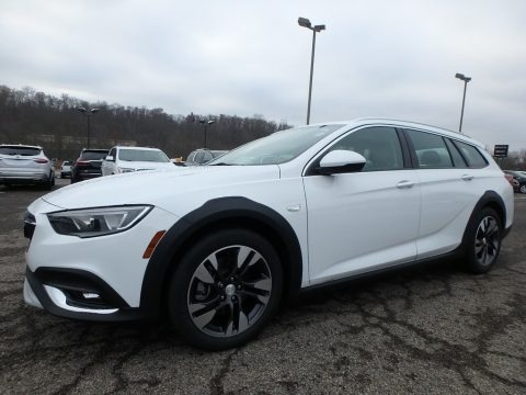 Summit White 2019 Buick Regal TourX Preferred AWD
