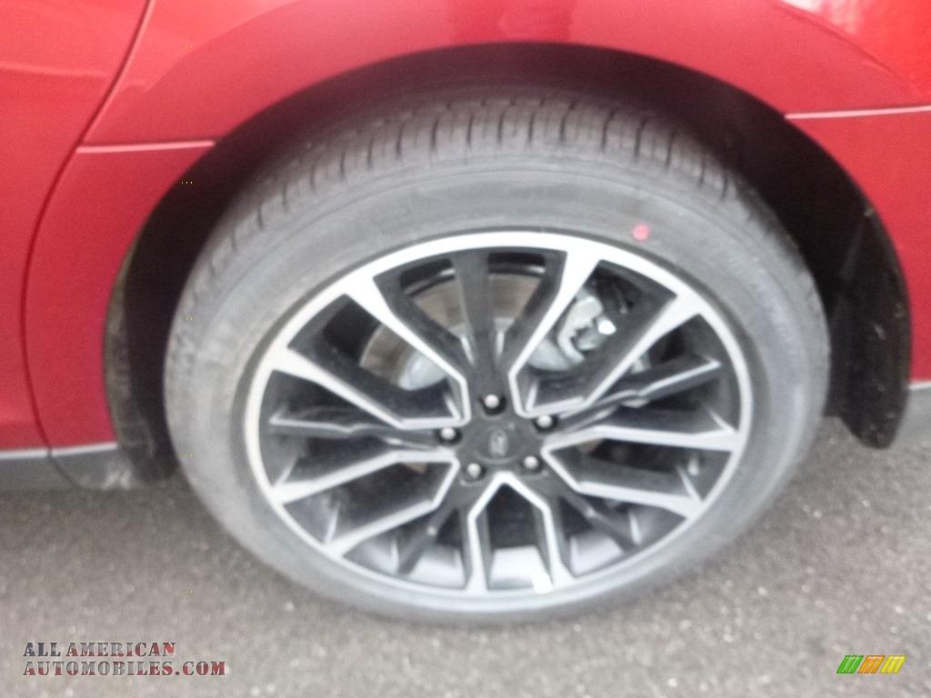 2019 Taurus SEL AWD - Ruby Red / Charcoal Black photo #7