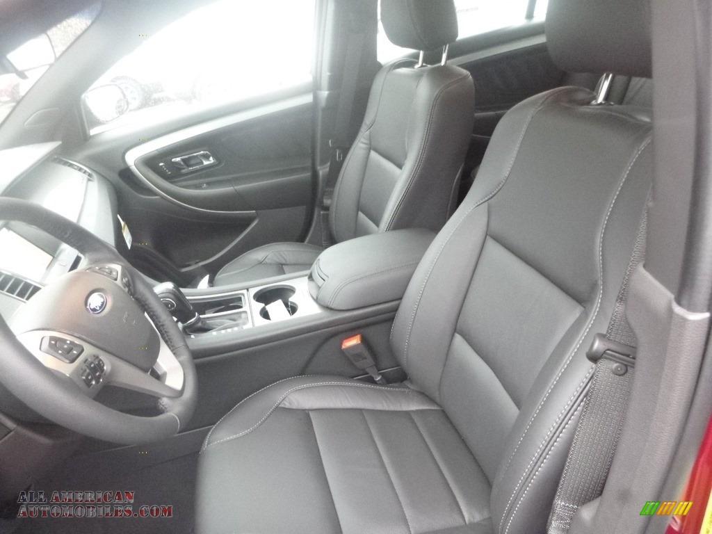 2019 Taurus SEL AWD - Ruby Red / Charcoal Black photo #10