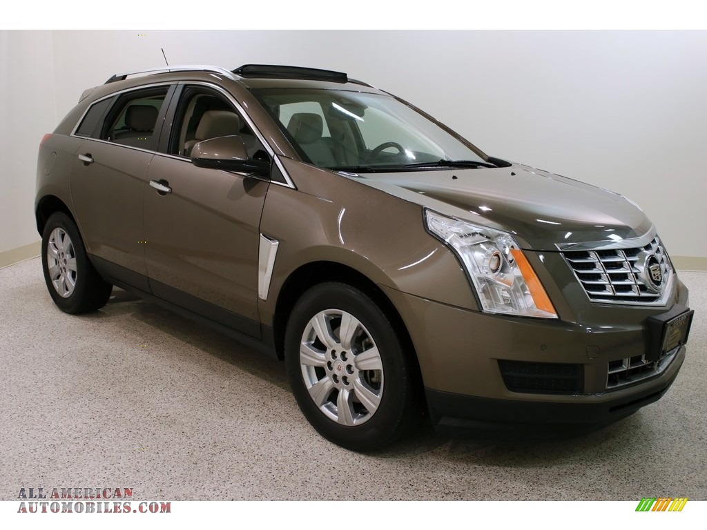 2015 SRX Luxury AWD - Terra Mocha Metallic / Shale/Brownstone photo #1