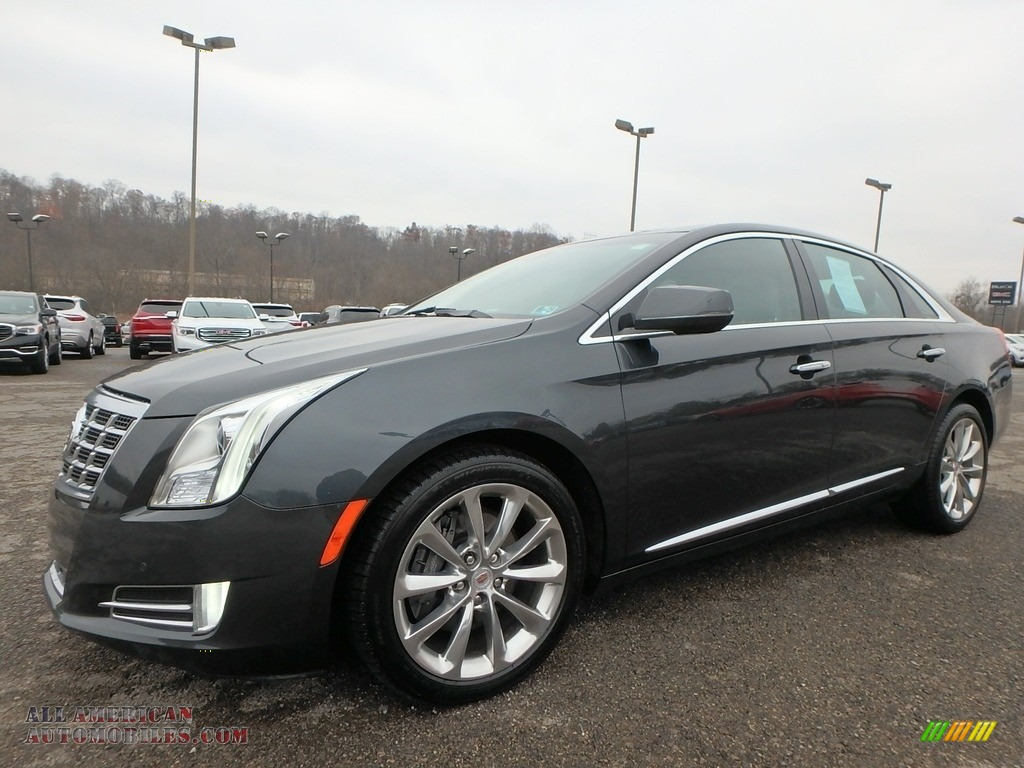 2013 XTS Luxury AWD - Graphite Metallic / Medium Titanium/Jet Black photo #1